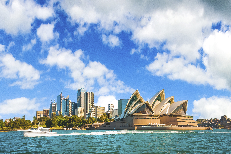 シドニーのオペラハウスの景色